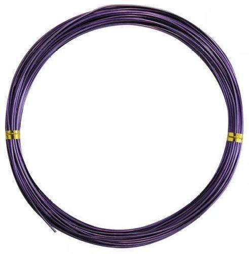 Проволока для бисероплетения фиолет диам.  1 мм уп.  10 м. - швейная фурнитура и товары для творчества оптом Дамское...